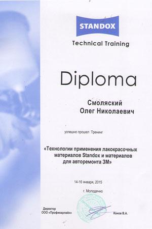 Сертификаты СТО, Автосервис